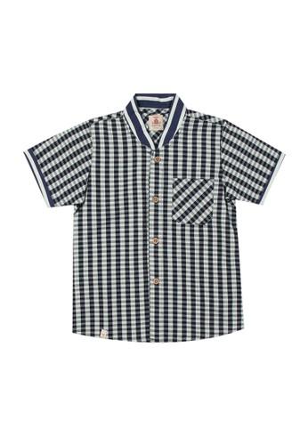 Tiny Button multi Boy Grap Shirt 57917KA28BD9E4GS_1
