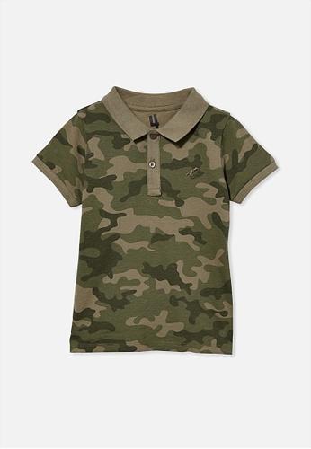 Cotton On Kids green Kendricks Polo 5925AKA4E82EE7GS_1