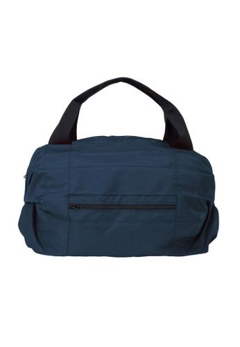 Shupatto navy Shupatto Foldable Travel Duffel Bag - Navy 3AC47AC49E30D7GS_1