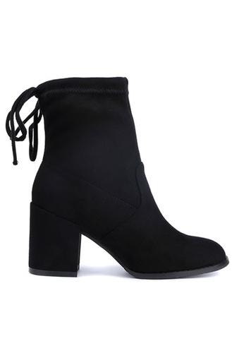 Twenty Eight Shoes black Boots 661-1 TW446SH40BSXHK_1