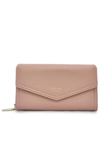 RUCINI pink Rucini Ladies Long Zip Wallet Flap Front 8A143ACA1692ABGS_1