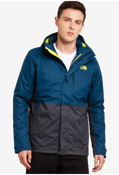 a4c0dc9a662 The North Face blue TNF M ALTIER DOWN TRICLIMATE JACKET - AP KODIAK  BLUE ASPHALT