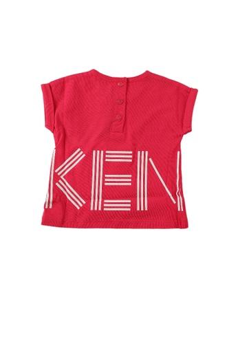 KENZO KIDS red KENZO BABY GIRLS T-SHIRT FECBDKA1103CD7GS_1