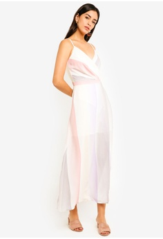 970d0ac6a0941 54% OFF MDSCollections Flavia Maxi Dress In Pastel Ombre HK  389.00 NOW HK   179.90 Sizes M