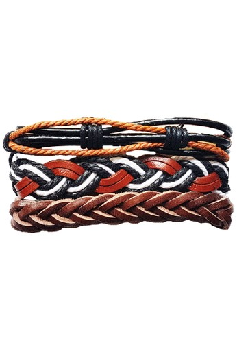 San Marco multi 3 in 1 Knot Twisted Bracelet 0B6D3ACB130AEAGS_1