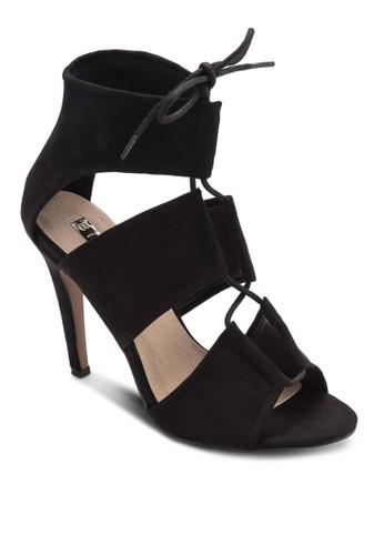 Orto 高跟繫帶高esprit 眼鏡跟涼鞋, 女鞋, 鞋