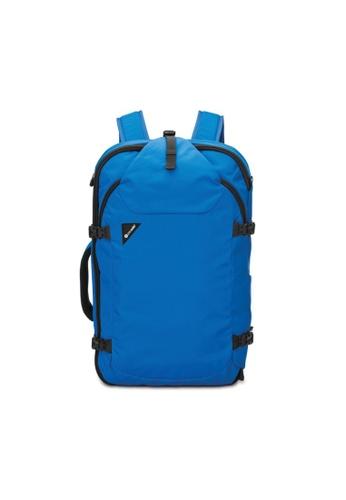 Pacsafe blue Pacsafe Venturesafe EXP45 Anti-Theft Travel Pack (Blue) A8D5FACC5FA65FGS_1