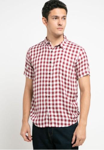 OLLten red O/L-Men Shirt 9ABD0AA5B0CC25GS_1