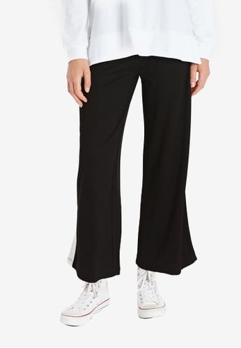 LC Waikiki black Striped Sides Trousers 9BCCFAA85B246FGS_1