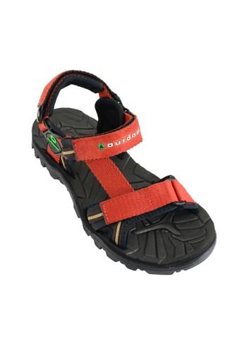 OUTDOOR FOOTWEAR orange Outdoor Mouve Brick Sandals Gunung OU533SH83PGIID_1