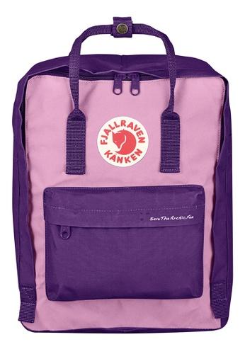 Fjallraven Kanken purple Purple-Orchid Kanken Classic Backpack Save The Arctic Fox Kanken 3B2BAACE3B6420GS_1