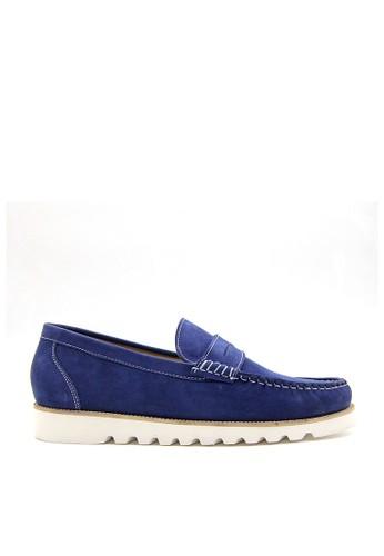 FTALE FOOTWEAR blue Ftale - Malvin Nubuck Blue A4E84SHA2800B8GS_1
