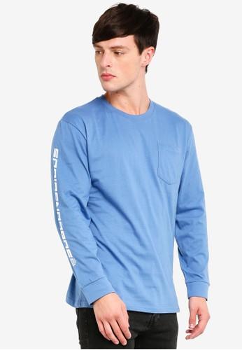 Factorie multi Ls Pocket T Shirt 005D8AA16C761BGS_1