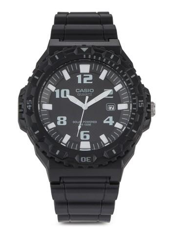 Casio Solar-Powereesprit台灣outletd 跳字行針運動手錶, 錶類, 飾品配件