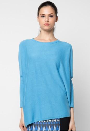 Noir Sur Blanc blue Ladies Poncho NO321AA82VZHID_1