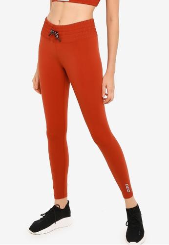 Lorna Jane orange Balboa Full Length Tights CF2F7AA2C7B471GS_1