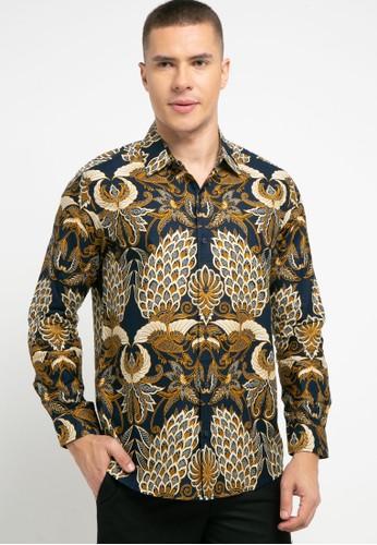 Introspect clothing gold Kemeja Batik 83CE8AAE6BB826GS_1