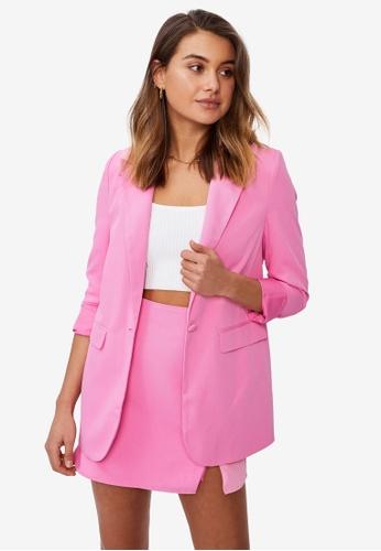 Supre pink Miranda Blazer A7263AA55C6499GS_1