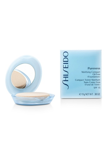 Shiseido SHISEIDO - Pureness Matifying Compact Oil Free Foundation SPF15 (Case + Refill) - # 40 Natural Beige 11g/0.38oz 066B5BE6E55A4FGS_1