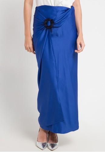 LUIRE by Raden Sirait blue and multi Skirt Cavali B2D67AACFDF88BGS_1