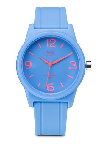 VR35J017Y 矽膠潮流圓錶, 錶類, 飾品配zalora taiwan 時尚購物網鞋子件
