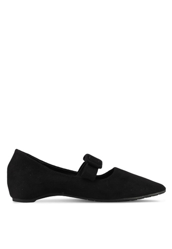 Mimosa black Pointed Flats FAFFCSHA5124F6GS_1