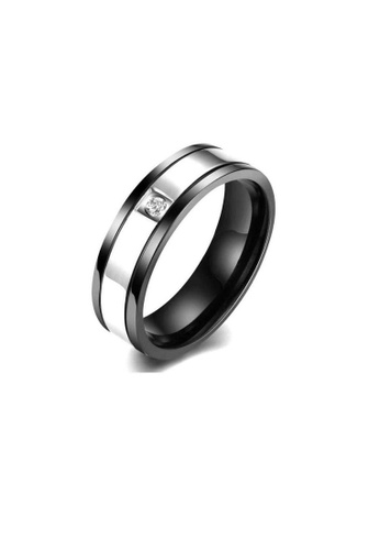 ADORA Stainless Steel Lady Ring AD365AC47DHWHK_1