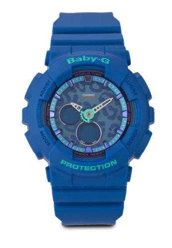 BABY-G BA-120LP-2ADR BA-120LP-2A 豹紋手錶, 錶類,esprit outlet 台灣 飾品配件