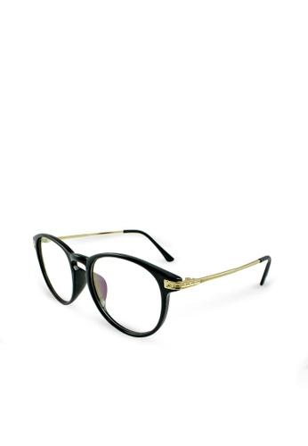 ASLLY black Aurora│Anti-blue light glasses with black rectangle frame 34FE5GLCB2F1CDGS_1