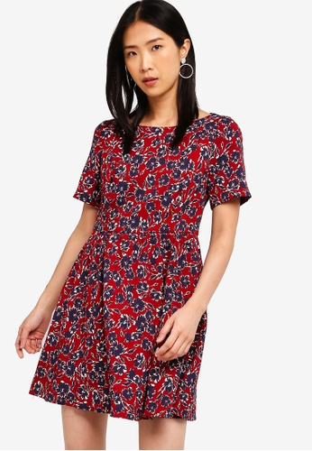 4a6fe8b7e5c9 Buy French Connection Audrene Flare Fit N Flare Dress | ZALORA HK