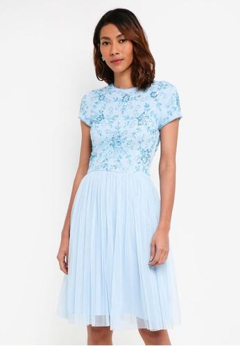 Lace & Beads blue Irina Maxi 87483AAF281784GS_1