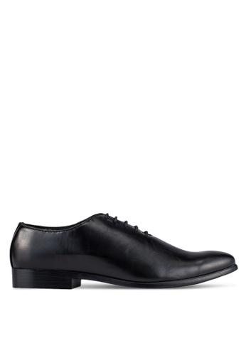 UniqTee black Lace Up Oxford Dress Shoes UN097SH0S21NMY_1