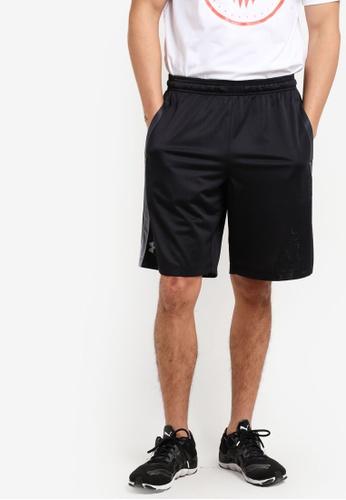 Under Armour black UA Tech Mesh Shorts UN337AA73VFEMY_1