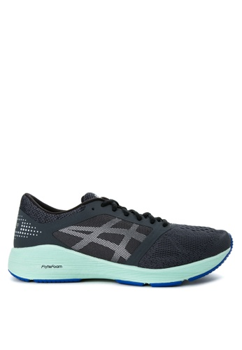 Asics grey and blue RoadHawk FF Running Shoes AS445SH57IDIPH_1