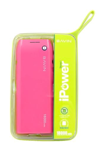 BAVIN pink PC258 18000mAh Power Bank B5132AC1DA5942GS_1