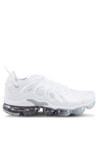 huge discount fe21f 72d8d Nike white Air Vapormax Plus Shoes 4E4EASH4AF8553GS 1