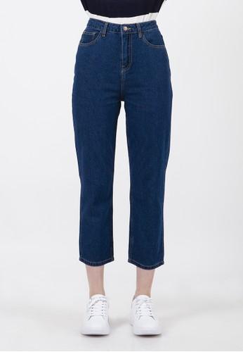 COLORBOX blue Basic Highwaist Pants 774DBAA803230FGS_1