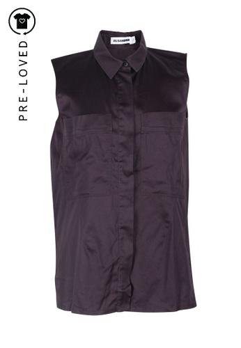 Jil Sander purple Pre-Loved jil sander Purple Shirt 1DDA7AA761B7A8GS_1