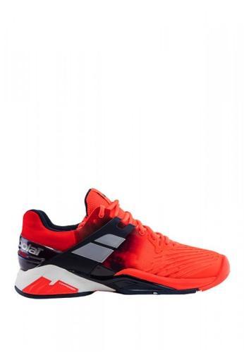 Babolat red Propulse Fury All Court Men's Tennis Shoes BA220SH0INXZPH_1