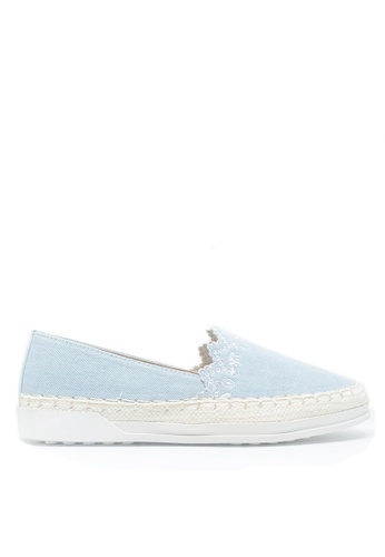 Twenty Eight Shoes blue Denim Slip-on A27-38 9F410SHBA986B1GS_1