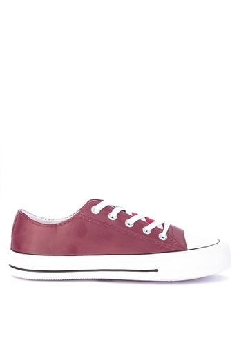 H2Ocean red Casanova Lace up Sneakers 168EESH6BFD63AGS_1