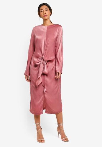 Haute Kelly pink Bo-Young Dress 176F5AA83F5C1FGS_1