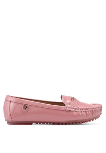 Carlton London pink Patent Loafers 9AEDDSH193EE3DGS_1