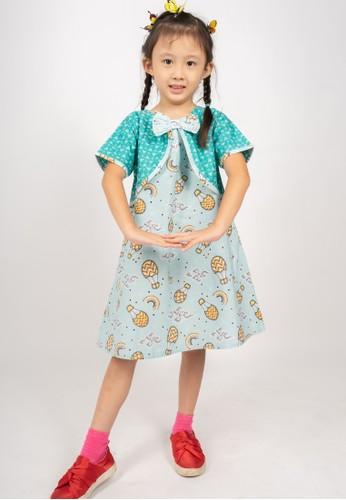 Rianty Kids green Dress Anak Bonaza Vest 00FCAKAAAD7EACGS_1