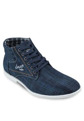 esprit 床上用品丹寧高筒運動鞋, 韓系時尚, 梳妝