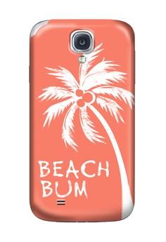 Beach Bum Matte Hard Case for Samsung Galaxy S4