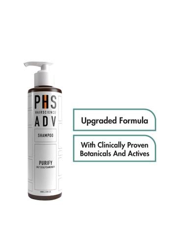 PHS HAIRSCIENCE PHS HAIRSCIENCE ADV Purify Shampoo (For Oily Scalp & Dandruff) 200ml PH462BE0FAKFSG_1