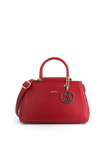 SEMBONIA red SEMBONIA Synthetic Leather Satchel Bag (Red) 5A28CAC803D561GS_1
