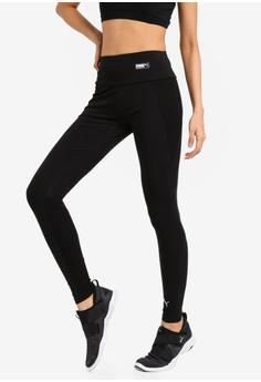 62234cf53a8a62 PUMA black Sportstyle Core Fusion Leggings 5489BAA71F88B3GS_1