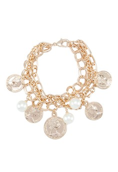 Chained Charms Bracelet